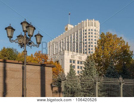 The House Of The Government Of The Russian Federation.