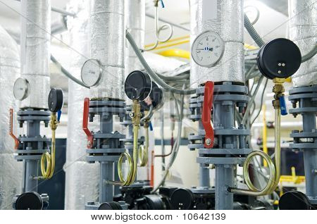 Gas Boiler Room Equipment