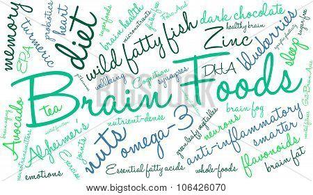 Brain Food Word Cloud