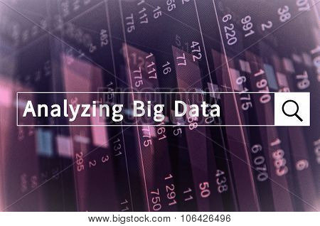 Analyzing Big Data