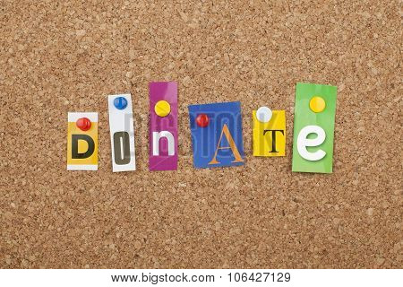 Donate / Donation / Give / Help / Support Financially