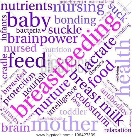 Breastfeeding Word Cloud
