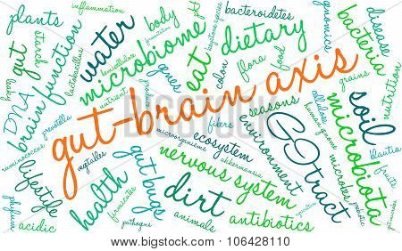Gut-brain Axis Word Cloud