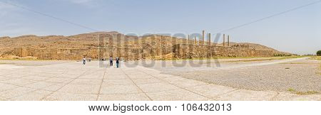 Entrance to the Persepolis ancient city