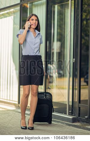 Businesswoman Traveling