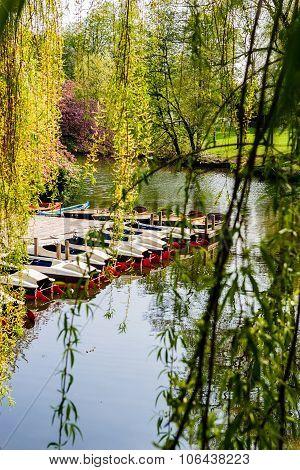 Boat Rental, City Park Hamburg, Hamburg, Germany