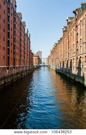 Hamburg: Famous Speicherstadt Warehouse District