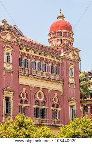 Yangon old building