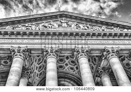 The Royal Exchange Building, London