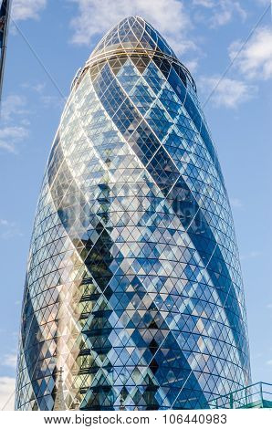 30 St Mary Axe Aka Gherkin Building, London