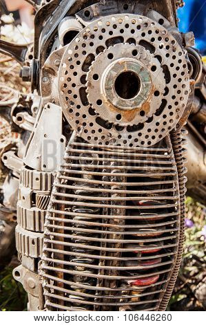 Scrap Metal Textures And Patterns Creative Designs