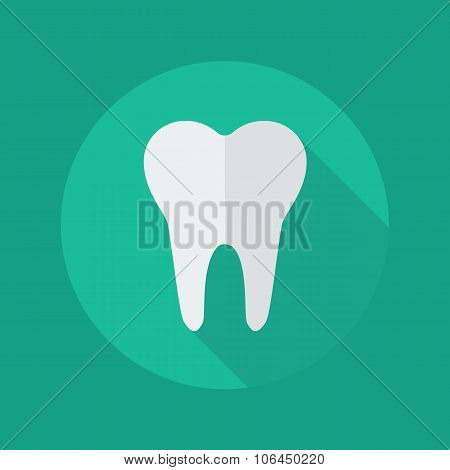 Medical Flat Icon. Dentistry Symbol