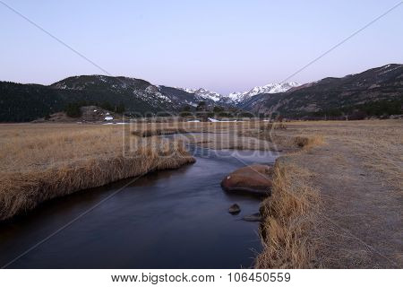 Big Thompson River And Rocky Mountain National Park