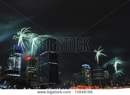 Brisbane Riverfire Fireworks Show