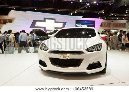 Bangkok - March 31 : Car On Display At The 34Th Bangkok International