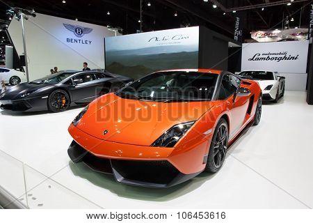 Bangkok - March 31 : Car On Display At The 34Th Bangkok International Motor Show 2013