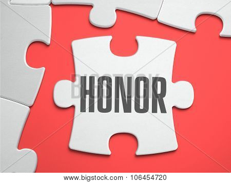 Honor - Puzzle on the Place of Missing Pieces.