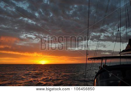 Indian Ocean Sunset Sail