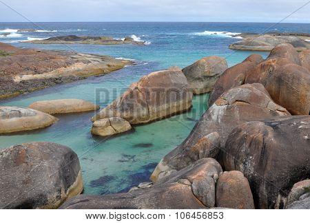 Elephant Rocks in Elephant Cove, Western Australia
