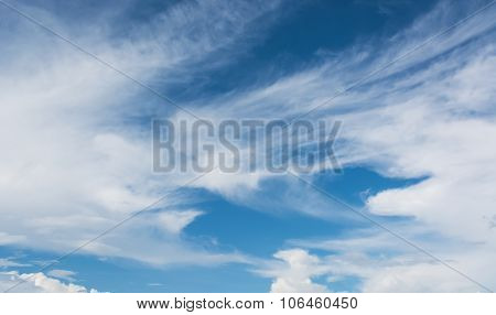 Image Of Clear Sky On Day Time For Background Usage .