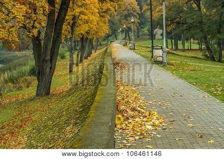 Alley In Birstonas