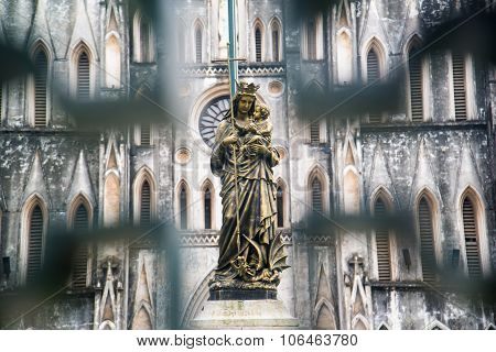 Blessed Virgin Mary Statue (jesus Statue)