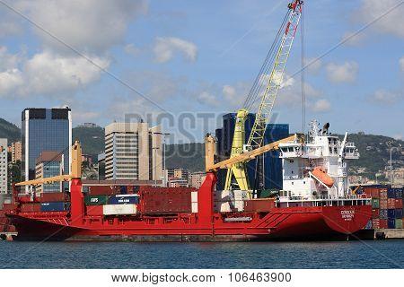 EEMSDIJK - Container Ship