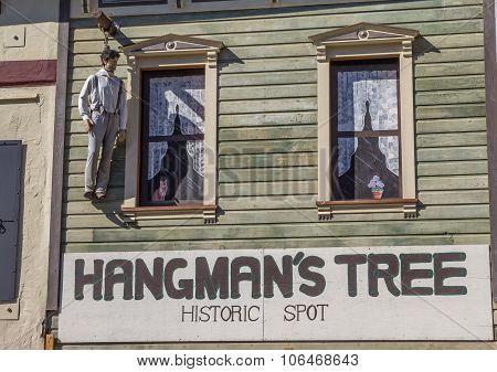 Hangmans Tree Historic Spot In Placerville