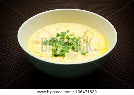 Steamed Beaten Egg, Thai Food