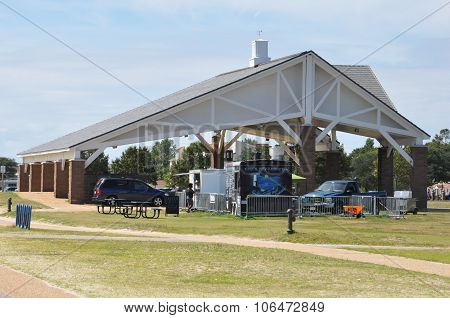 Buckroe Beach Park in Hampton, Virginia