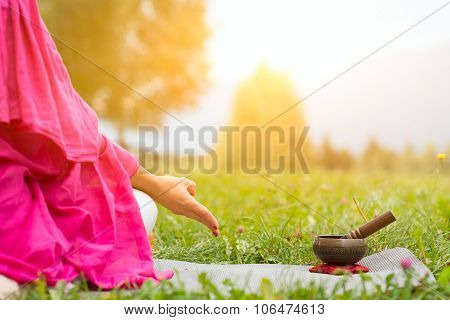 Yoga With Tibetan Bell
