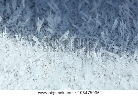 Rime Ornament - Abstract Background