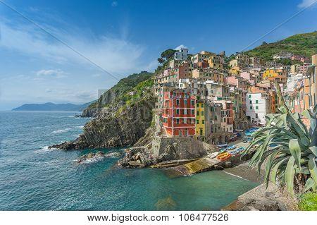 Riomaggiore on the Cinque Terre