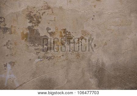 Textured Street Wall