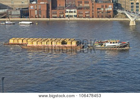 Thames Container Barge