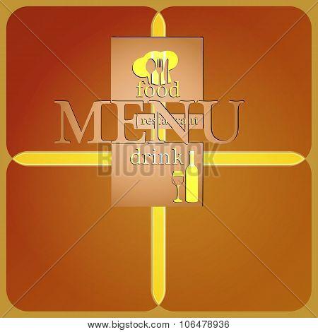Restaurant Menu Modified Letters