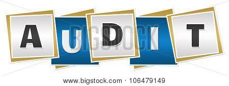 Audit Blue Grey Blocks