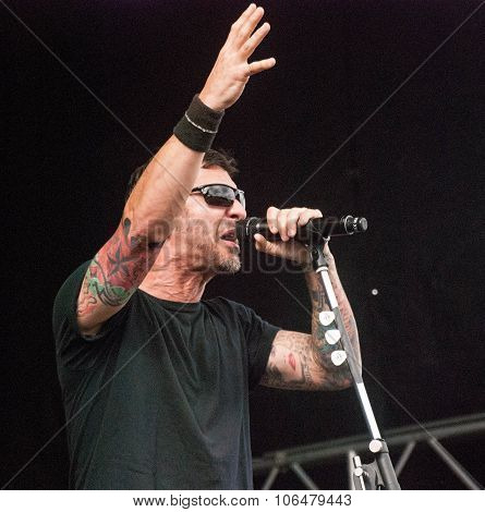 Godsmack live at Soundwave Festival, Brisbane 2015