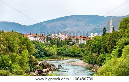 View Of Mostar Old Town - Herzegovina