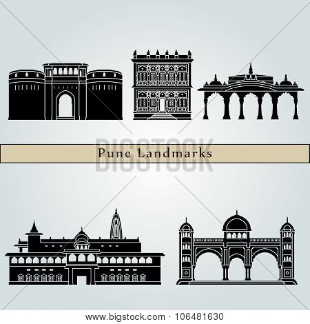 Pune landmarks and monuments
