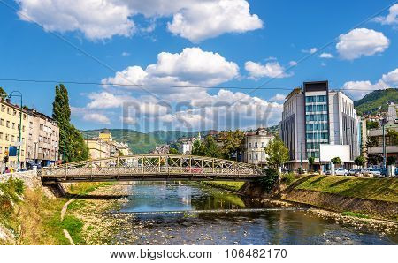 Ajfelov Bridge In Sarajevo - Bosnia And Herzegovina