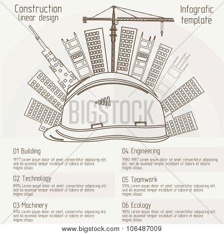 construction linear design