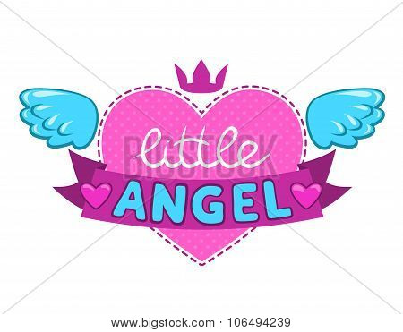 Little angel illustration