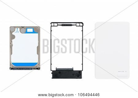 Hdd And External Enclosure Case