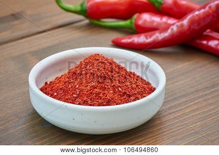 Korean Chili Pepper Powder And Chili Pepper