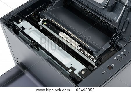 Replace Black Toner Cartridge