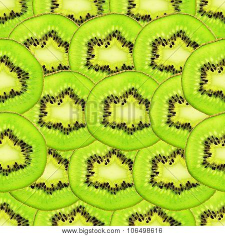 Kiwi Seamless Background