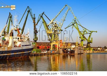 Shipyard - Industry Area