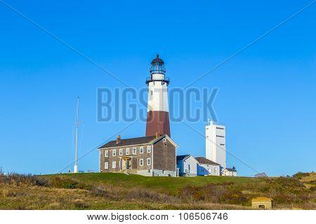 Montauk Point Light, Lighthouse, Long Island, New York, Suffolk County