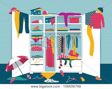 Open Wardrobe.